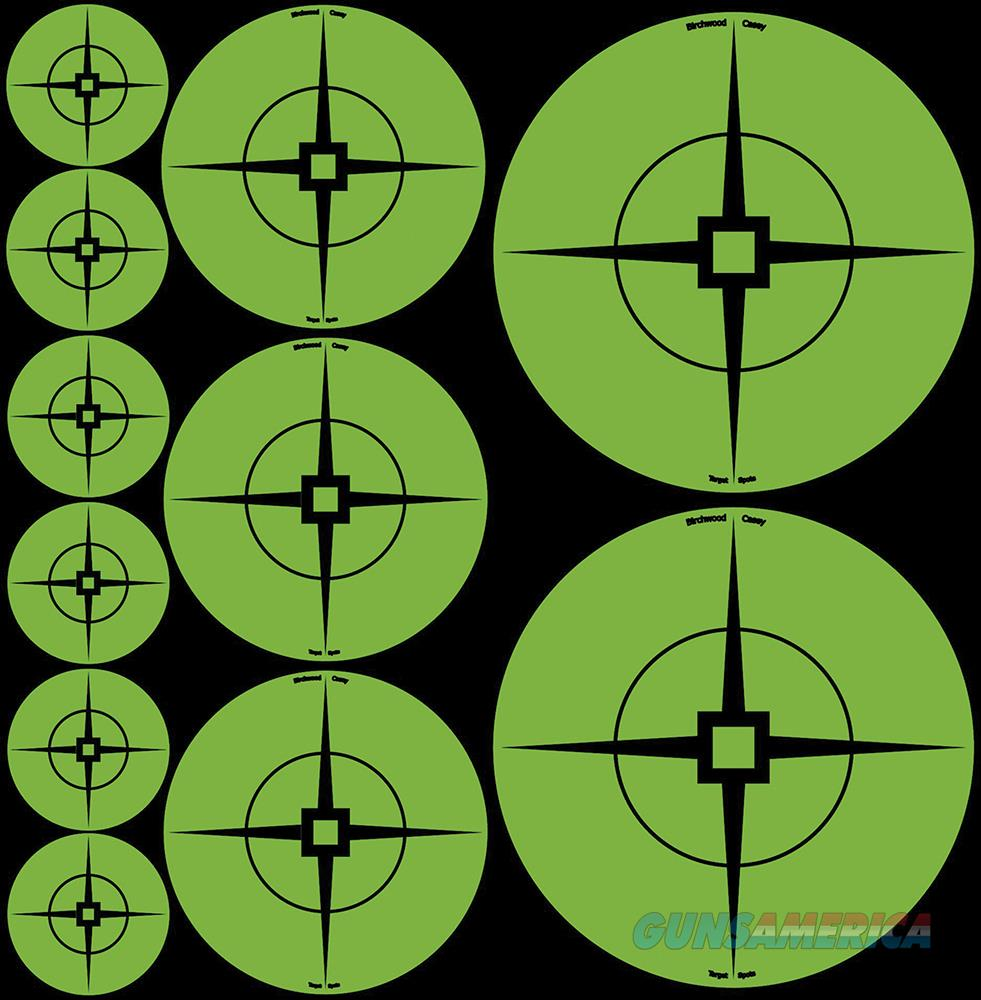 "Birchwood Casey Target Spots 33938 Green New 1""  Guns"