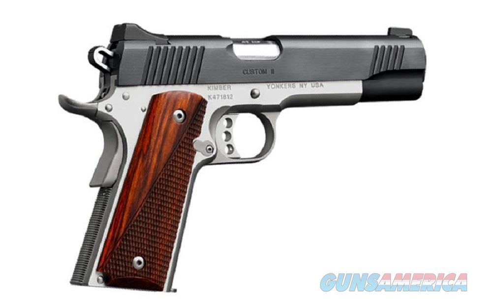 Kimber Custom II Two Tone 45 Acp 3200301 NIB 45Acp  Guns > Pistols > Kimber of America Pistols > 1911