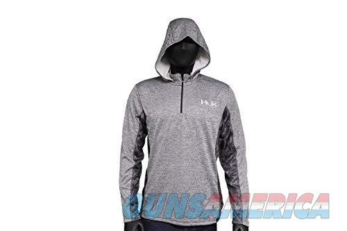 Huk Cold Weather Icon Hoodie Grey MD  Non-Guns > Hunting Clothing and Equipment > Clothing > Shirts