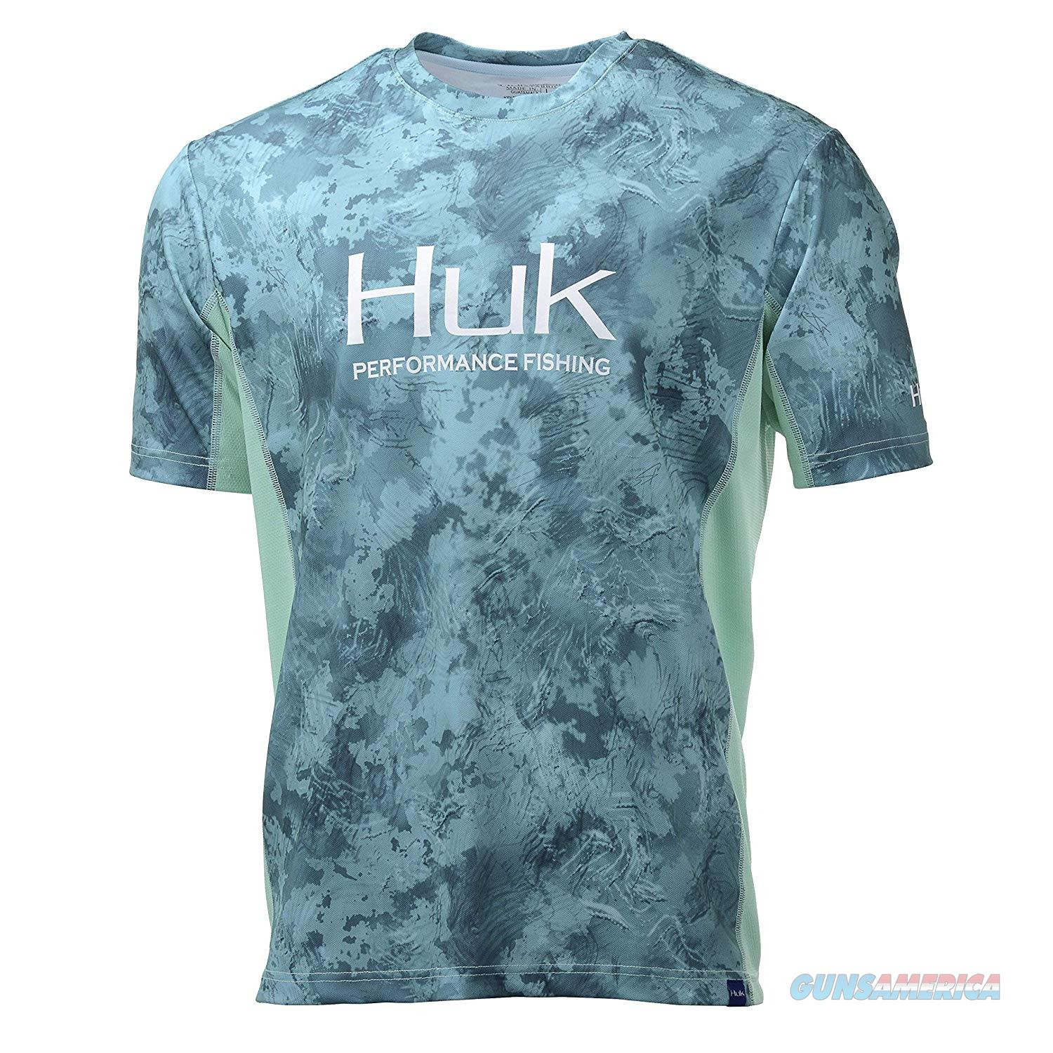 Huk Icon Camo SS Shirt Shallows LG  Non-Guns > Hunting Clothing and Equipment > Clothing > Shirts