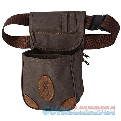 Browning Lona Shell Pouch Leather NEW  Non-Guns > Hunting Clothing and Equipment > Ammo Pouches/Holders/Shell Bags