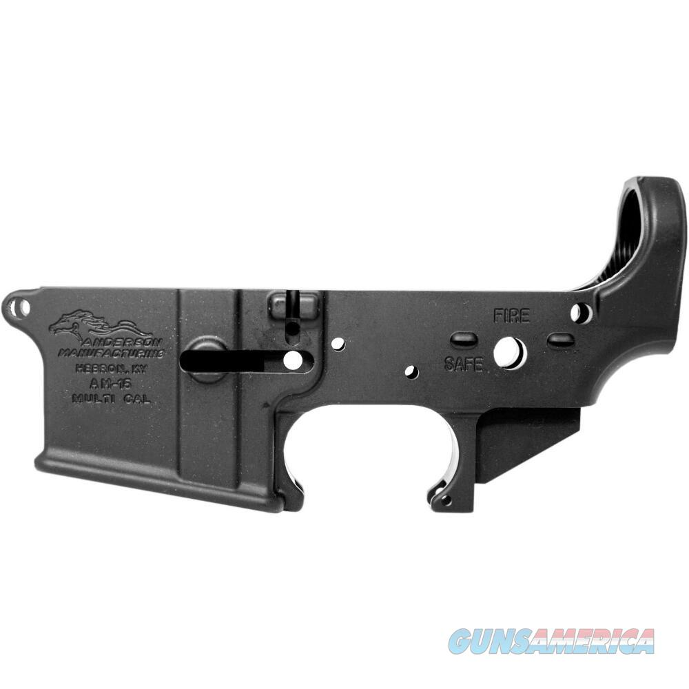 Anderson AR-15 Stripped Lower 5.56 D2-K067-A000-09  Guns > Pistols > Olympic Arms Pistols