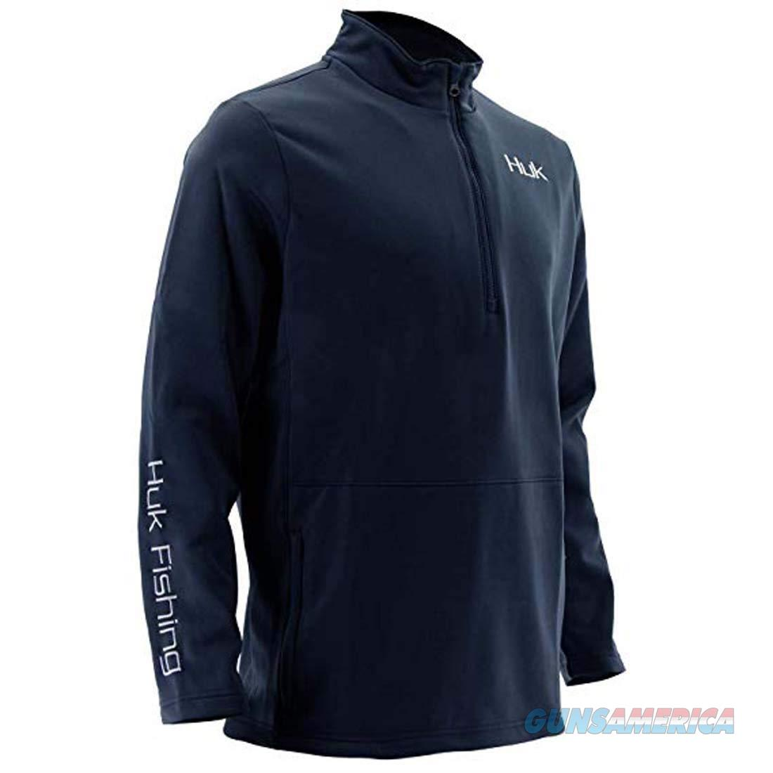 Huk Tidewater 1/4 Zip LG Navy  Non-Guns > Hunting Clothing and Equipment > Clothing > Shirts