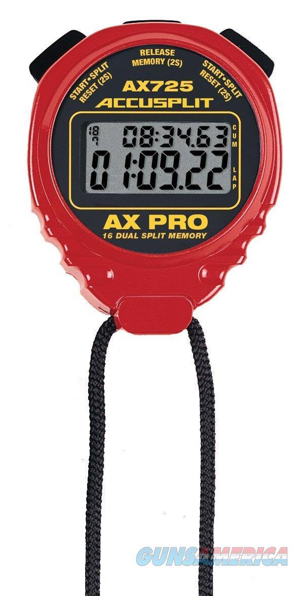 Accusplit AX725 Pro Stopwatch Red  Non-Guns > Miscellaneous