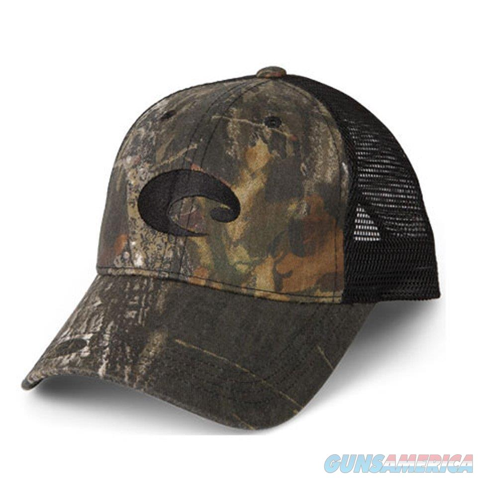 Costa Del Mar Mesh Hat Mossy Oak Black  Non-Guns > Hunting Clothing and Equipment > Clothing > Hats