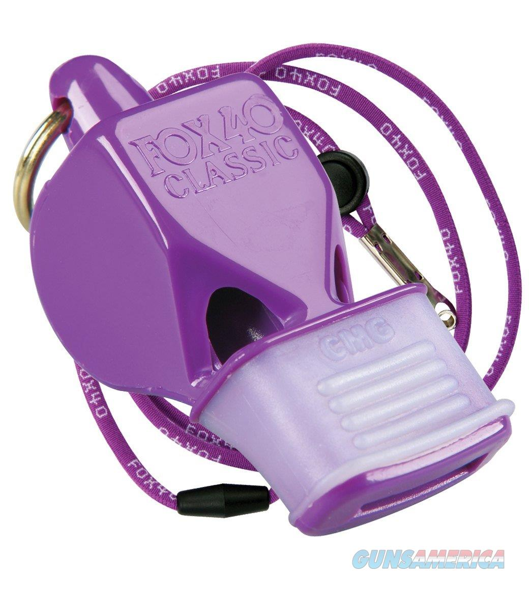 Fox 40 Classic CMG Safety Whistle Purple  Non-Guns > Miscellaneous
