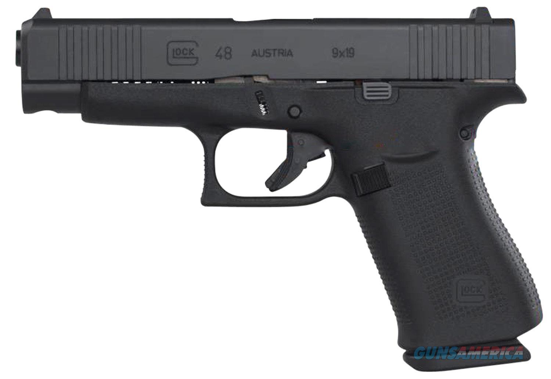 """Glock 48 Black 9 MM 4.17"""" BBL 10+1 PA4850201 NIB  Guns > Pistols > Glock Pistols > 43/43X"""