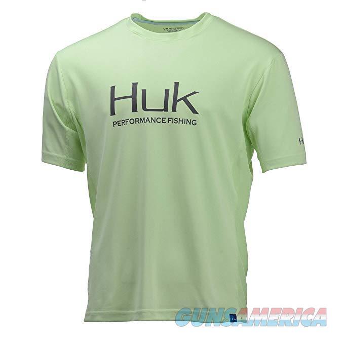 Huk Icon Short Sleeve Key Lime Medium  Non-Guns > Hunting Clothing and Equipment > Clothing > Shirts