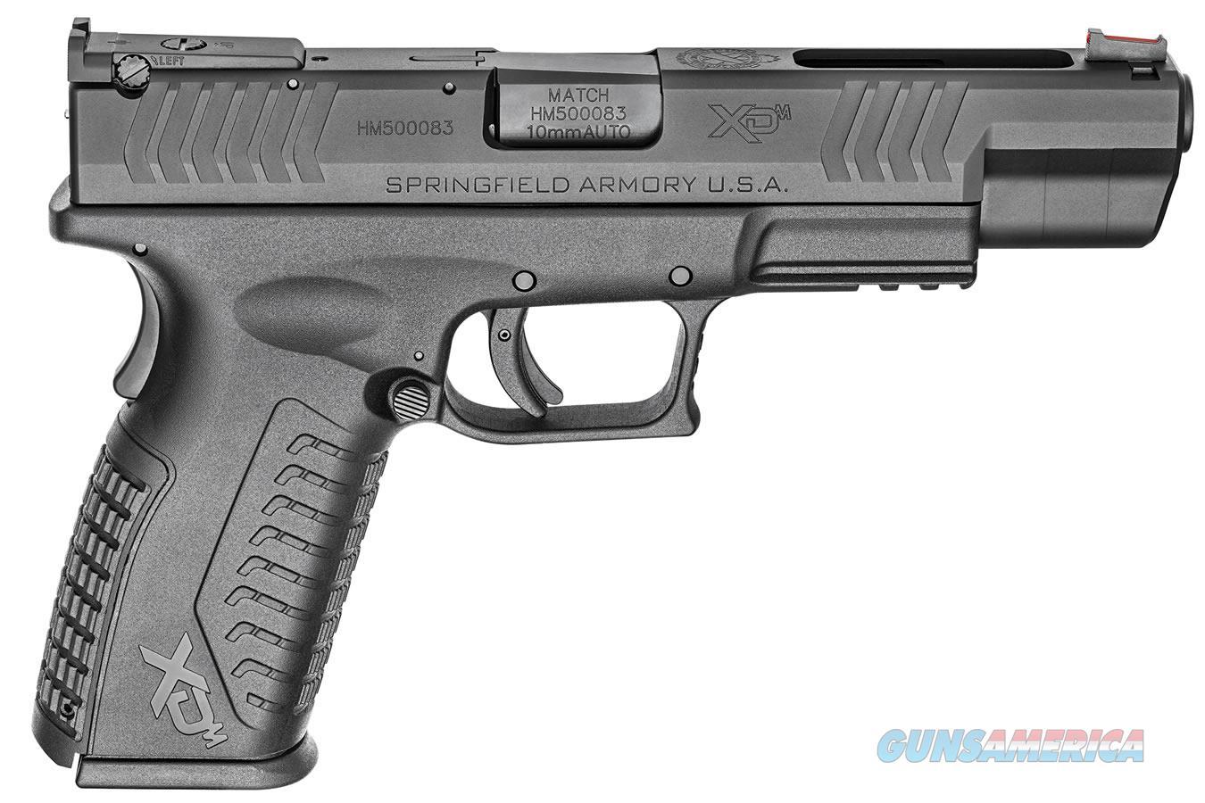 "Springfield XDM 10 MM 5.25"" BBL NIB XDM952510BHCE  Guns > Pistols > Springfield Armory Pistols > XD-M"