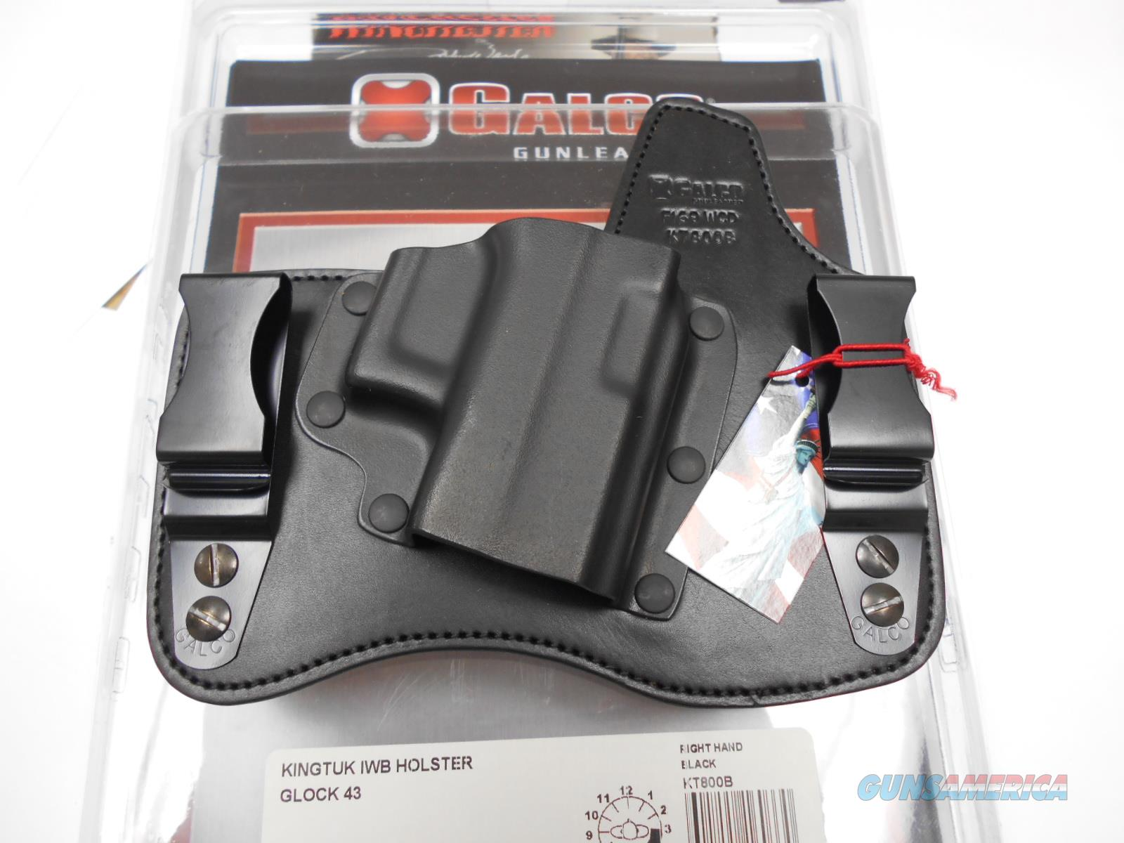 Galco KingTuk Holster for Glock 43 - KT800B  Non-Guns > Holsters and Gunleather > Concealed Carry