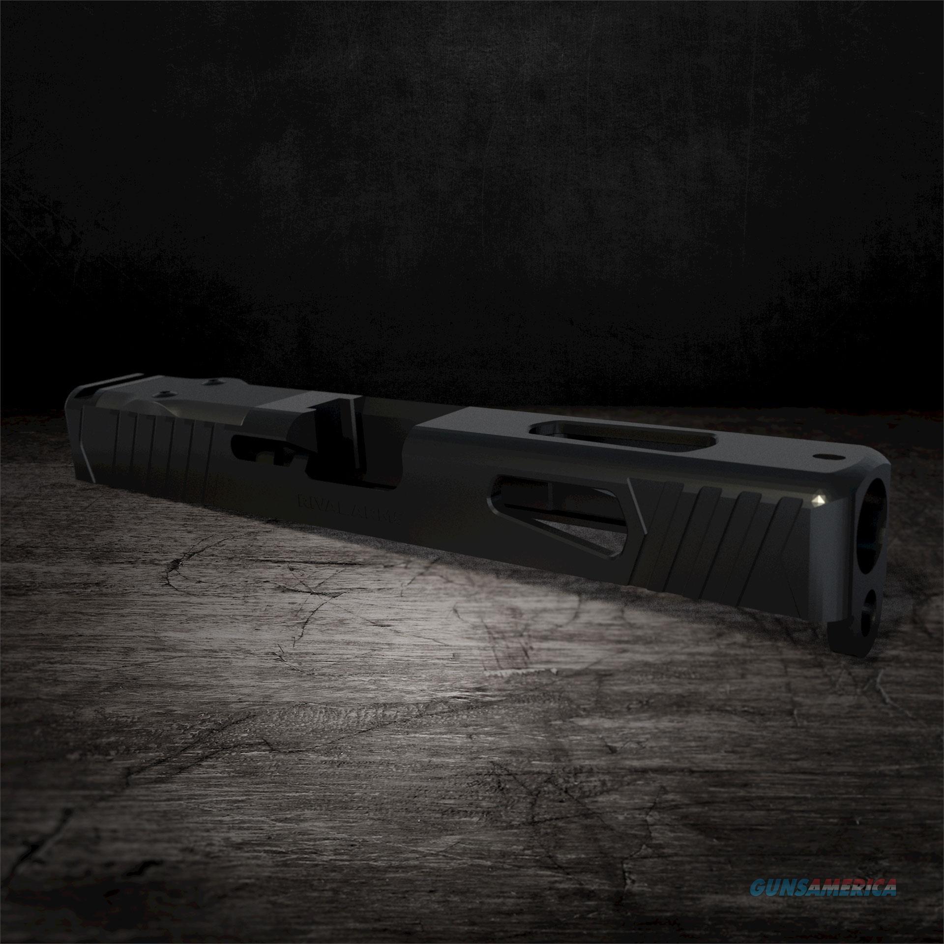 Rival Arms Glock 19 DOC Cut Slide Black Gen 3  Non-Guns > Barrels