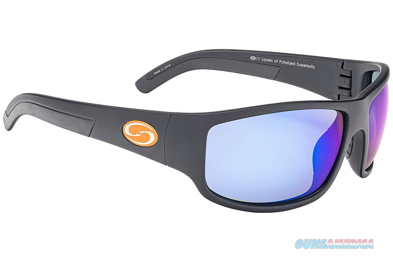 Strike King S11 Caddo Sunglasses Black/Blue Mirror  Non-Guns > Miscellaneous