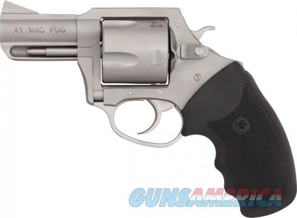 "Charter Arms Magnum Pug 41 Mag 2.5"" BBL NIB 74120  Guns > Pistols > Charter Arms Revolvers"