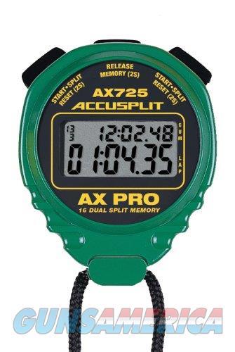 Accusplit AX725 Pro Stopwatch Green  Non-Guns > Miscellaneous