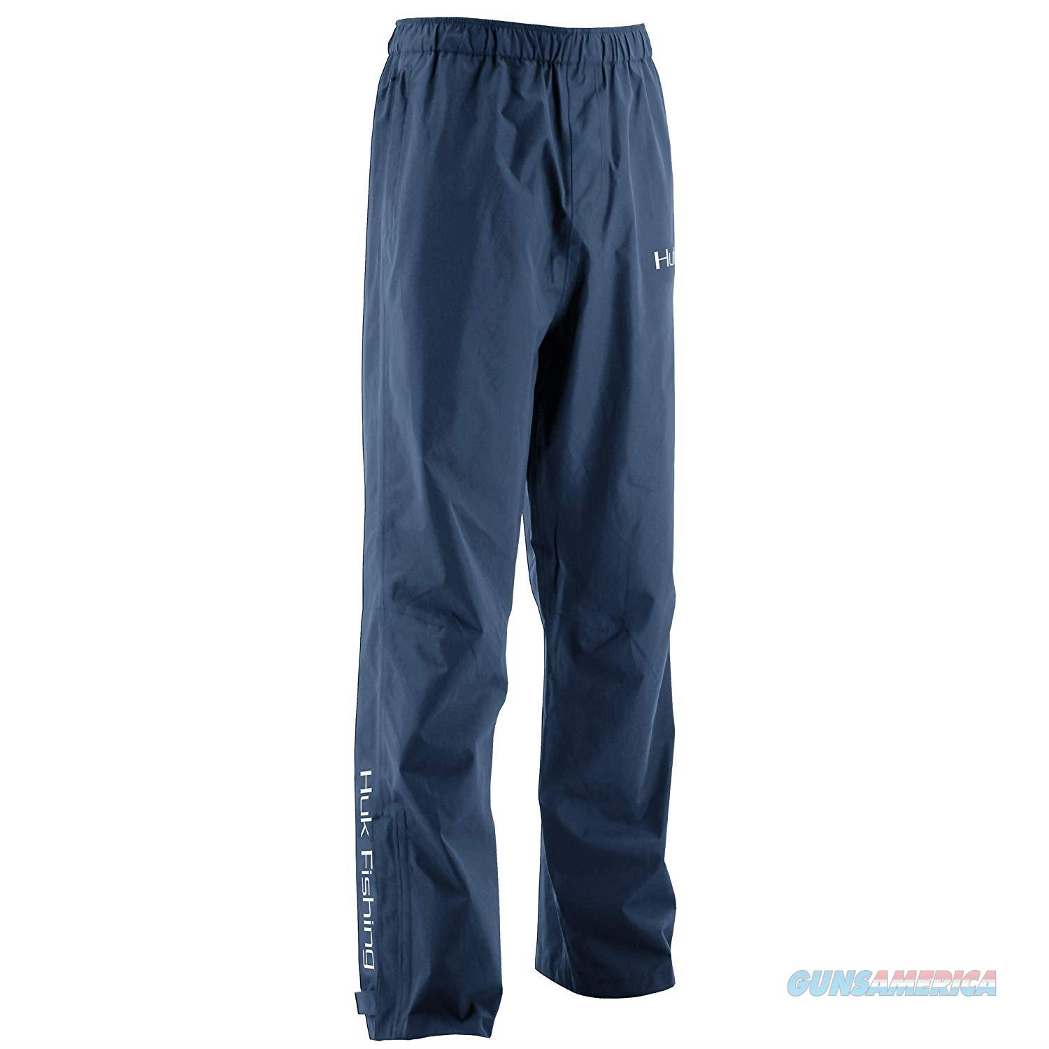 Huk Camo Packable Pants LG Navy Blue  Non-Guns > Hunting Clothing and Equipment > Clothing > Pants