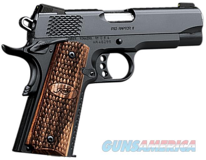 "Kimber Pro Raptor II 45 Acp 4""BBL 1911 NIB 3200118  Guns > Pistols > Kimber of America Pistols > 1911"