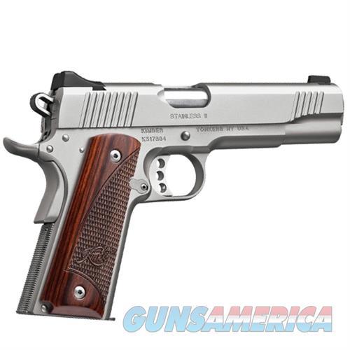"Kimber Stainless II 9mm 5"" Barrel NIB - 3200327  Guns > Pistols > Kimber of America Pistols > 1911"