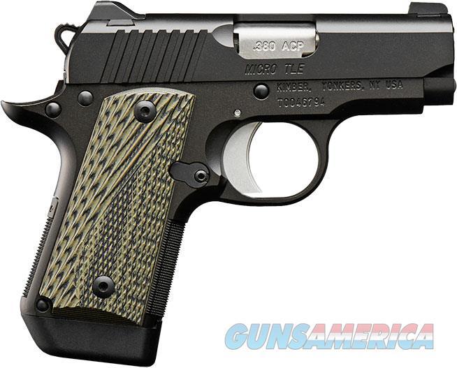 "Kimber Micro TLE 380 Acp NIB 2.75"" BBL 3300190 NS  Guns > Pistols > Kimber of America Pistols > Micro"