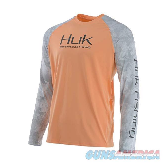 Huk Double Header Shirt Peach 2XL  Non-Guns > Hunting Clothing and Equipment > Clothing > Shirts