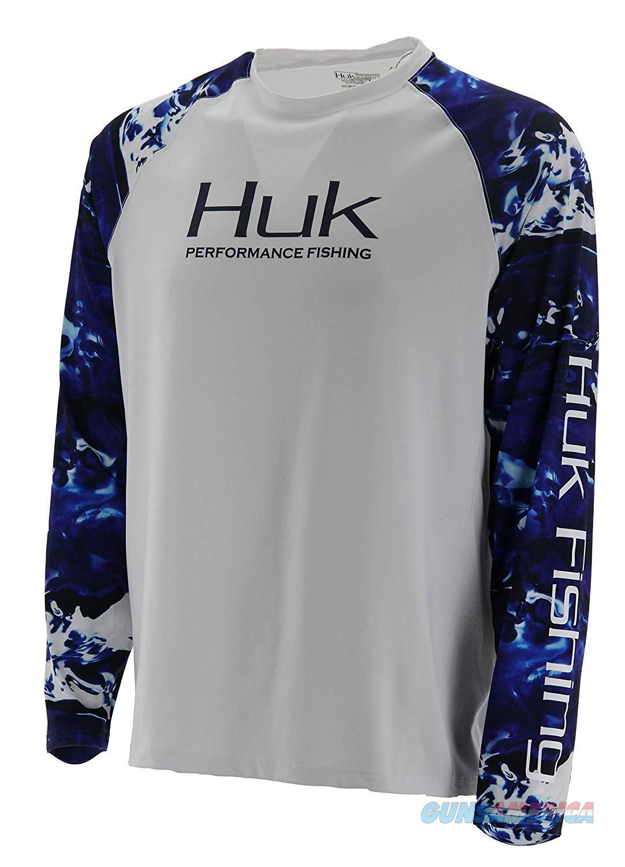 Huk Camo Vented LS 2XL White  Non-Guns > Hunting Clothing and Equipment > Clothing > Shirts