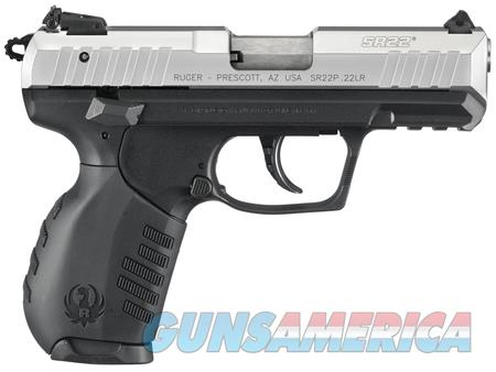"Ruger SR22 Two Tone 3607 NIB 22 LR 3.5"" BBL 22LR  Guns > Pistols > Ruger Semi-Auto Pistols > SR Family > SR22"