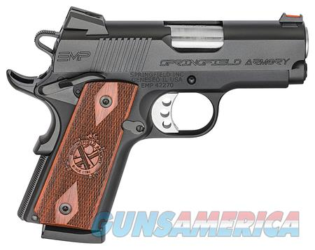 Springfield 1911 EMP Compact PI9208L 9mm 9 MM NIB  Guns > Pistols > Springfield Armory Pistols > 1911 Type