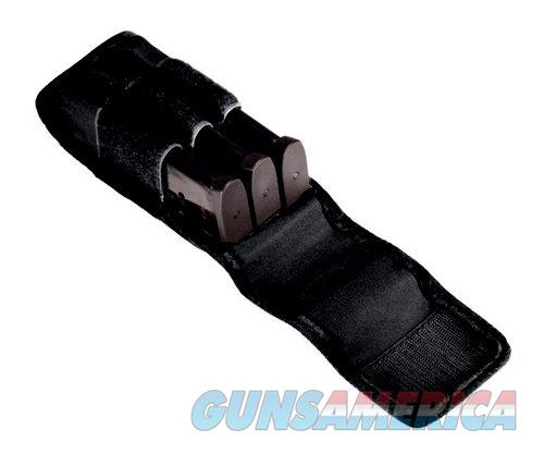 Tuff Double Stack 3 Mag Pouch Black  Non-Guns > Holsters and Gunleather > Magazine Holders
