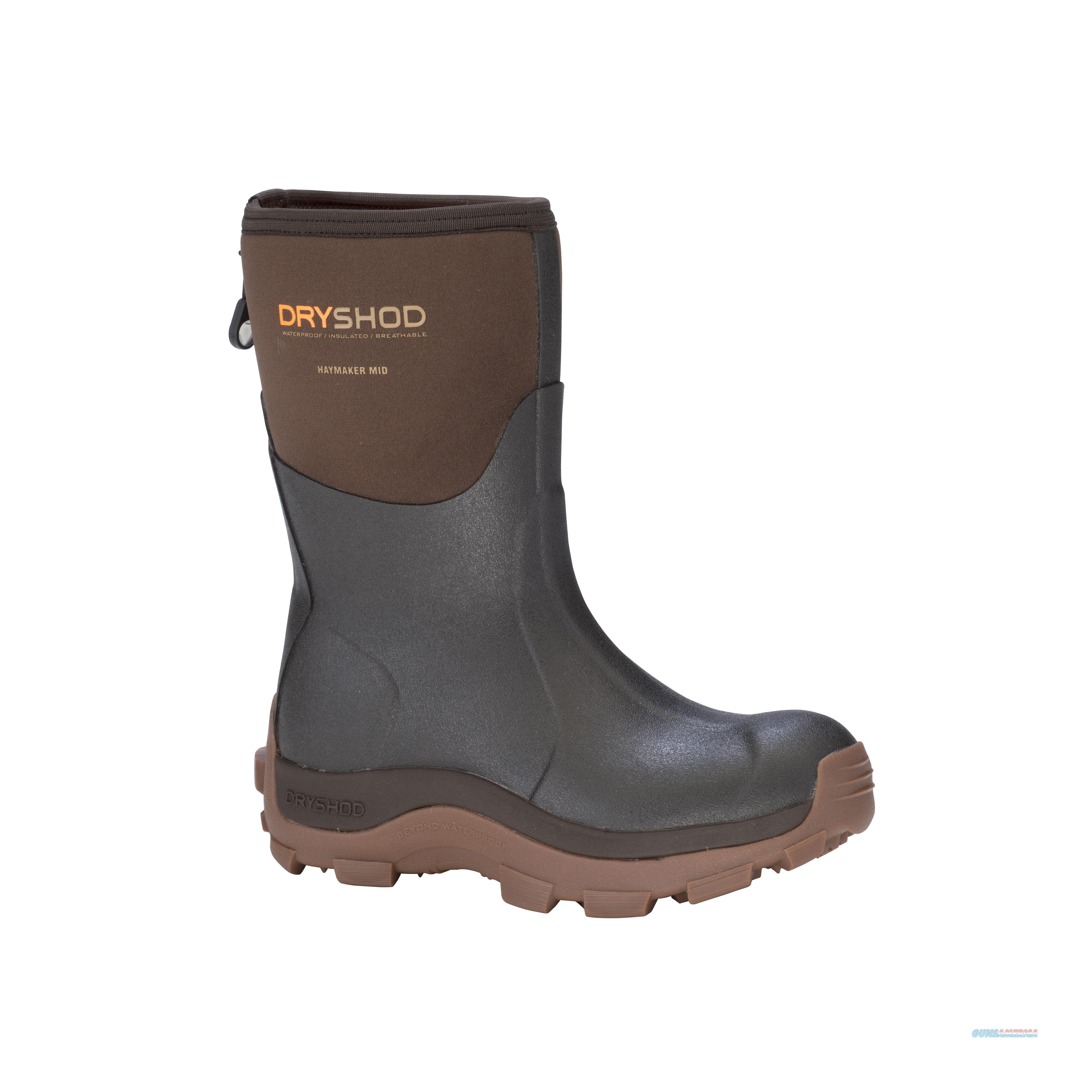 Dryshod Haymaker Mid Cut Boot Size 11  Non-Guns > Hunting Clothing and Equipment > Clothing > Camo Outerwear