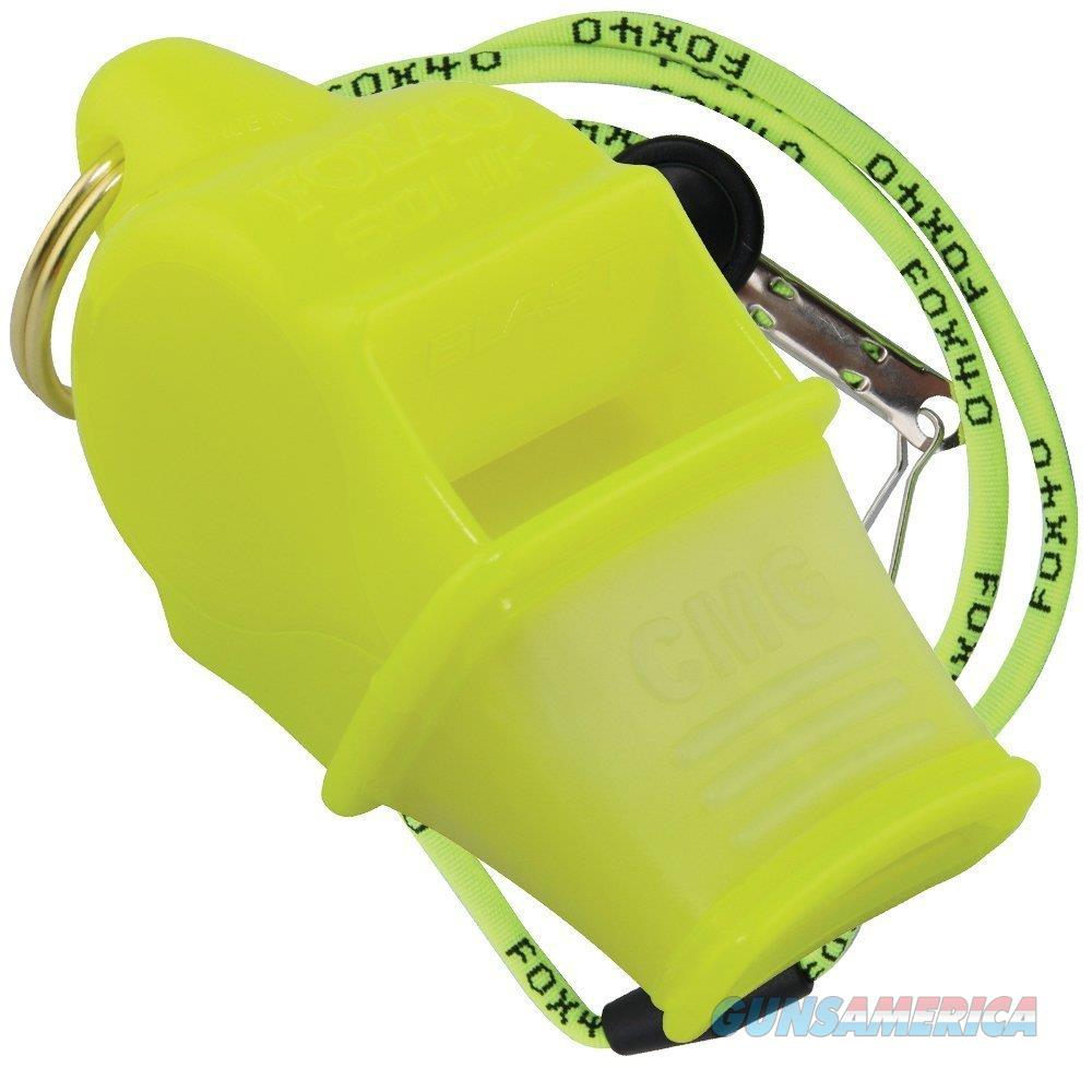 Fox 40 Sonik Blast CMG Whistle Neon  Non-Guns > Miscellaneous
