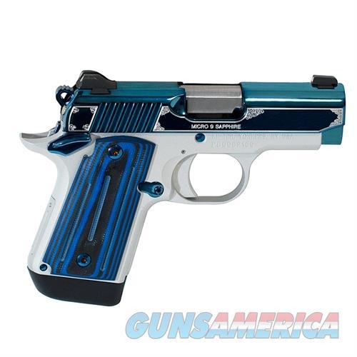 "Kimber Micro 380 Acp Sapphire NIB 2.7""BBL 3300090  Guns > Pistols > Kimber of America Pistols > Micro"