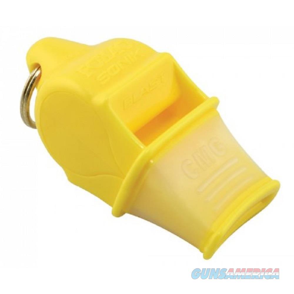 Fox 40 Sonik Blast CMG Whistle Yellow  Non-Guns > Miscellaneous