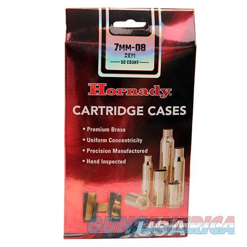 Hornady Unprimed 7mm-08 Remington Cartridge Brass  Non-Guns > Reloading > Components > Brass