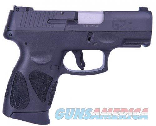 "Taurus PT111 G2C 9 MM 1-G2C931-12 NIB 3.2""BBL 12+1  Guns > Pistols > Taurus Pistols > Semi Auto Pistols > Polymer Frame"
