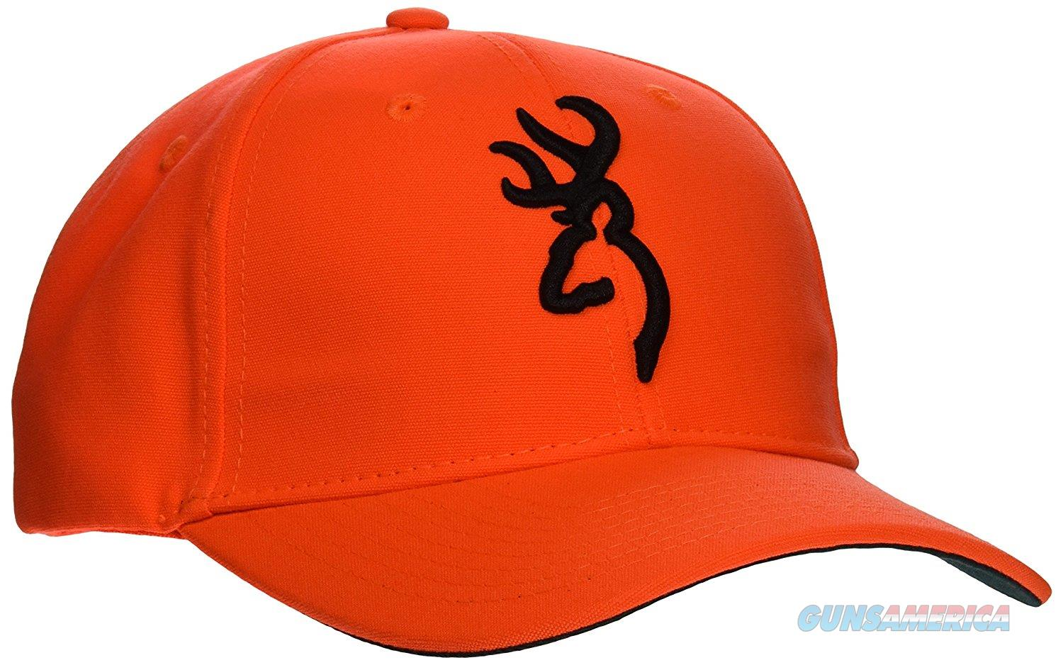 Browning Hunting Cap Hat, Safety 3D, Blaze Orange With Logo - 30840501  Non-Guns > Hunting Clothing and Equipment > Clothing > Blaze Orange