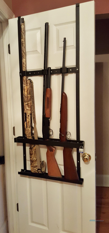 Self Defense Gun Rack Rifle Shotgun Closet Do for sale