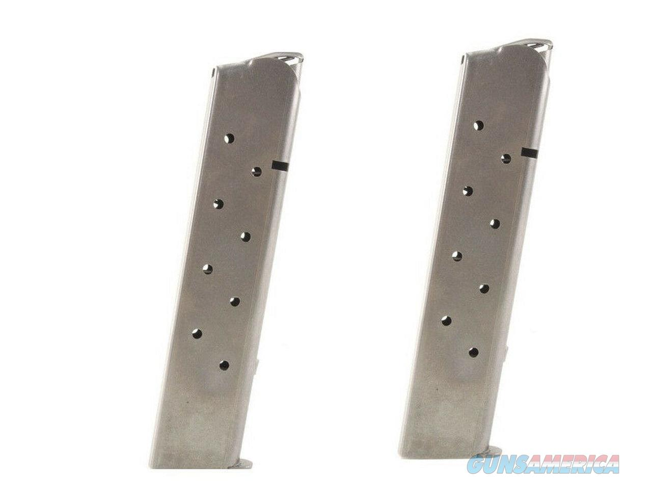 10 Pack Kimber 1911 Full-Size Magazines Mag 10 Round EXTENDED MAGS Made in USA!!   Non-Guns > Ammunition