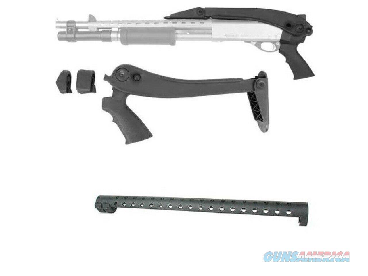 ATI Pistol Grip TOP FOLDING Stock Pistol Grip Heat Shield Remington 870 Shotgun !!  Non-Guns > Ammunition