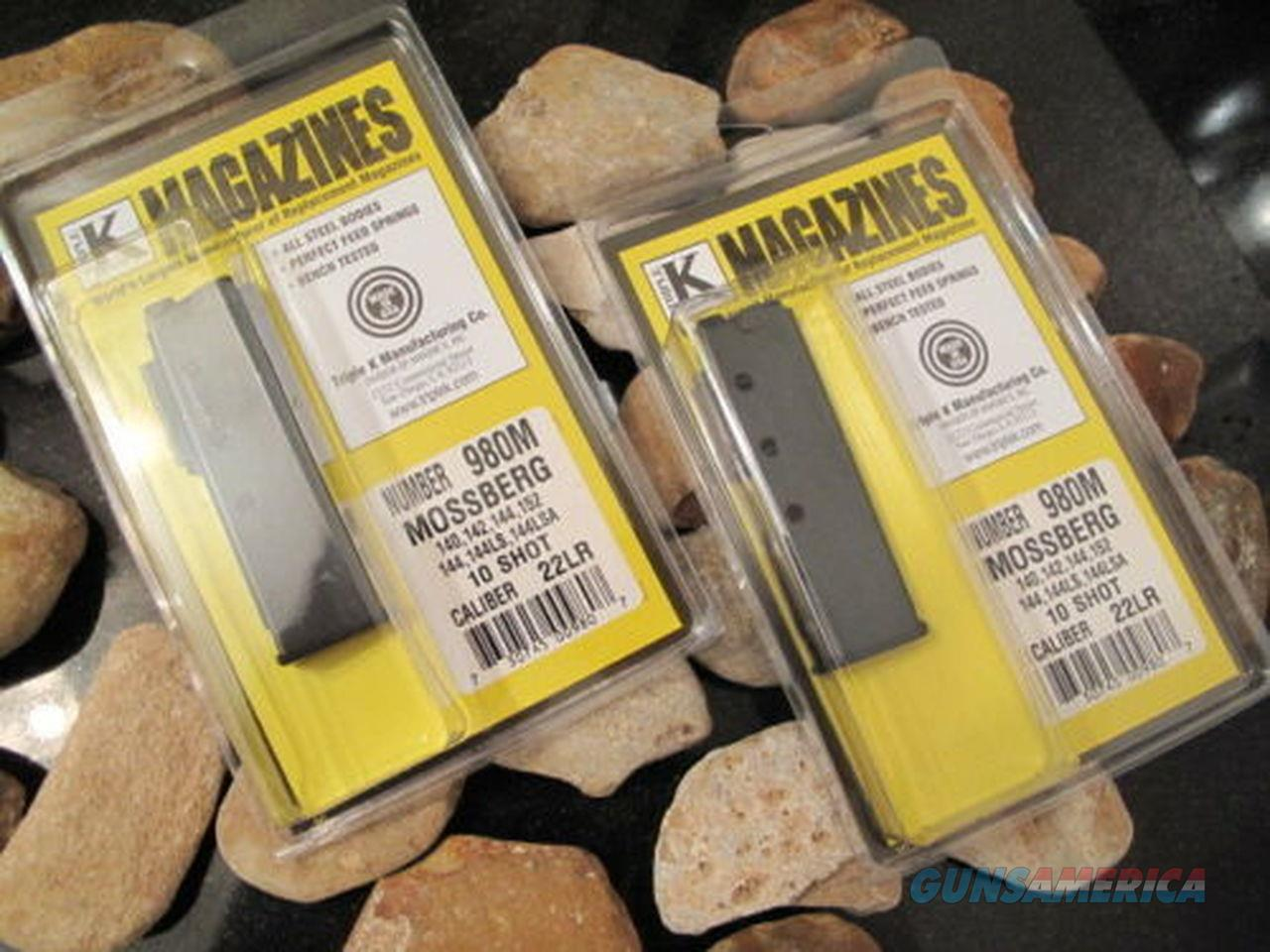 2-Pack Magazine Fits Mossberg Model 140 142 144 152 144LS 22 .22 LR Mag Mags  Non-Guns > Ammunition