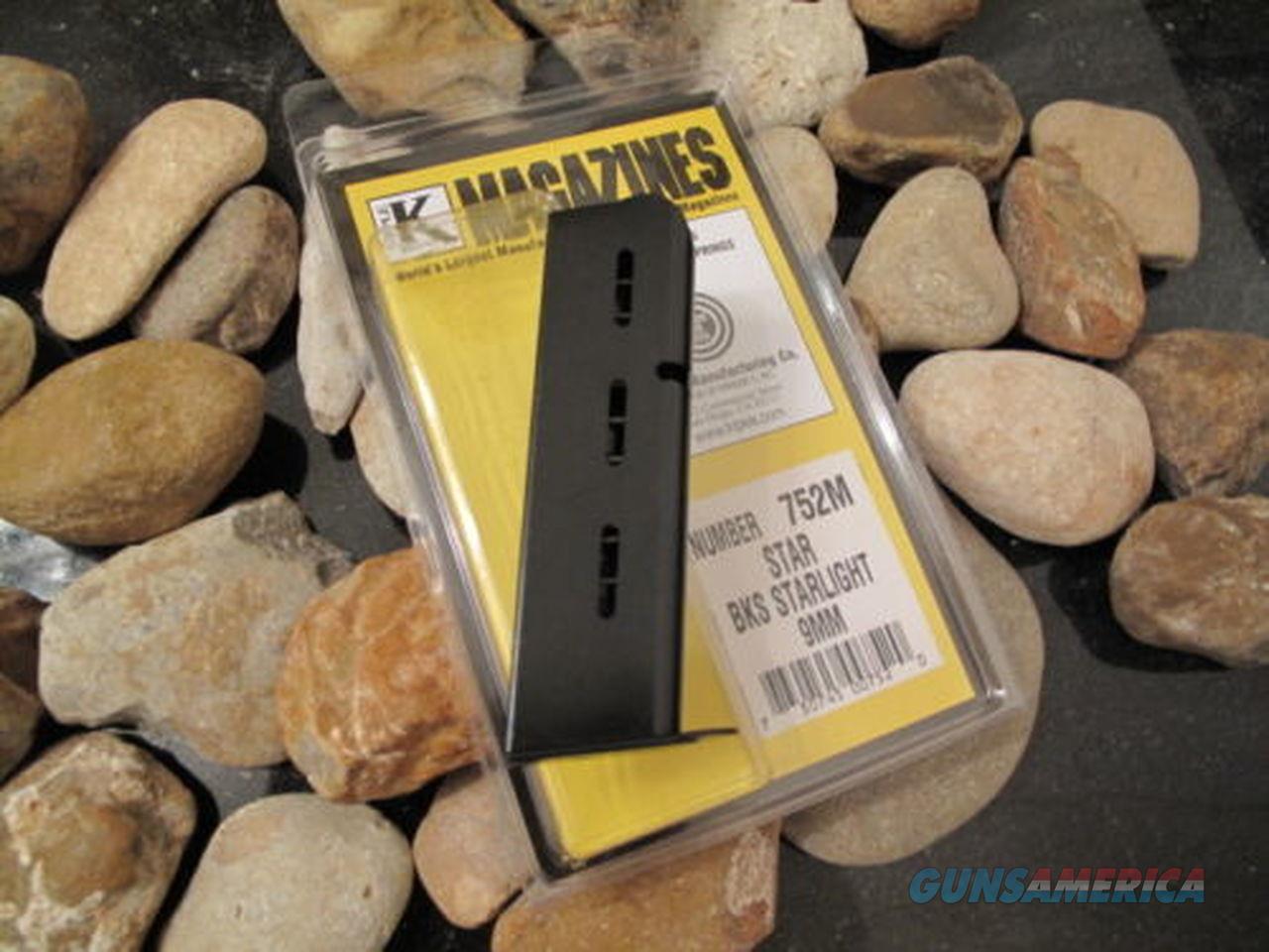 1-Single Star Fits BKS STARLIGHT 9mm Triple K 8 Shot Magazine Pistols 9mm  Non-Guns > Ammunition