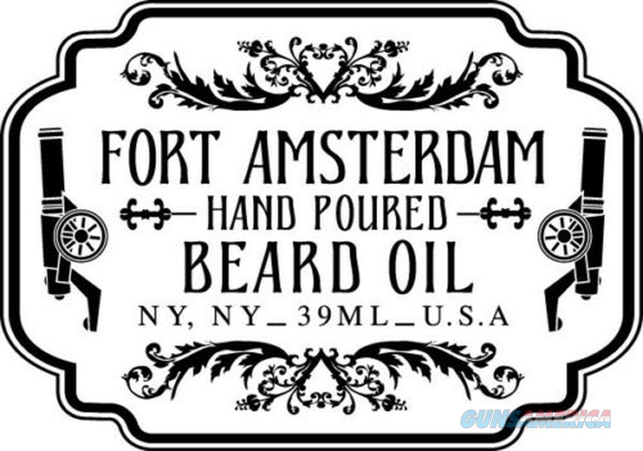 3-Pack Beard Wax Oil & KENT POCKET CLIP Fine Comb Grooming FORT AMSTERDAM  Non-Guns > Ammunition