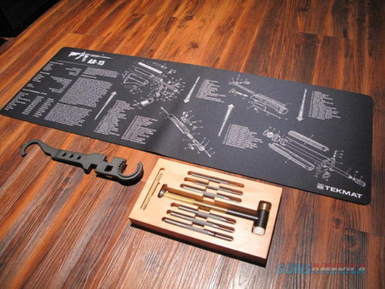 Rifle Builder ELITE KIT Wrench Cleaning Mat TEKMAT Punch Kit Armorers .223  Non-Guns > Ammunition