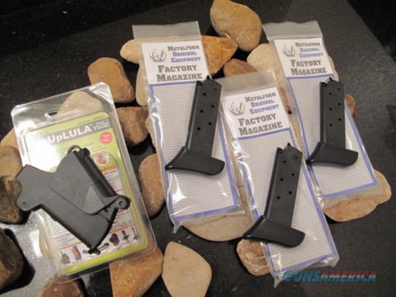 3-Pack Fits Sig EXTENDED p238 380 .380 7-RD Magazines + BABY UPLULA SPEEDLOADER  Non-Guns > Ammunition