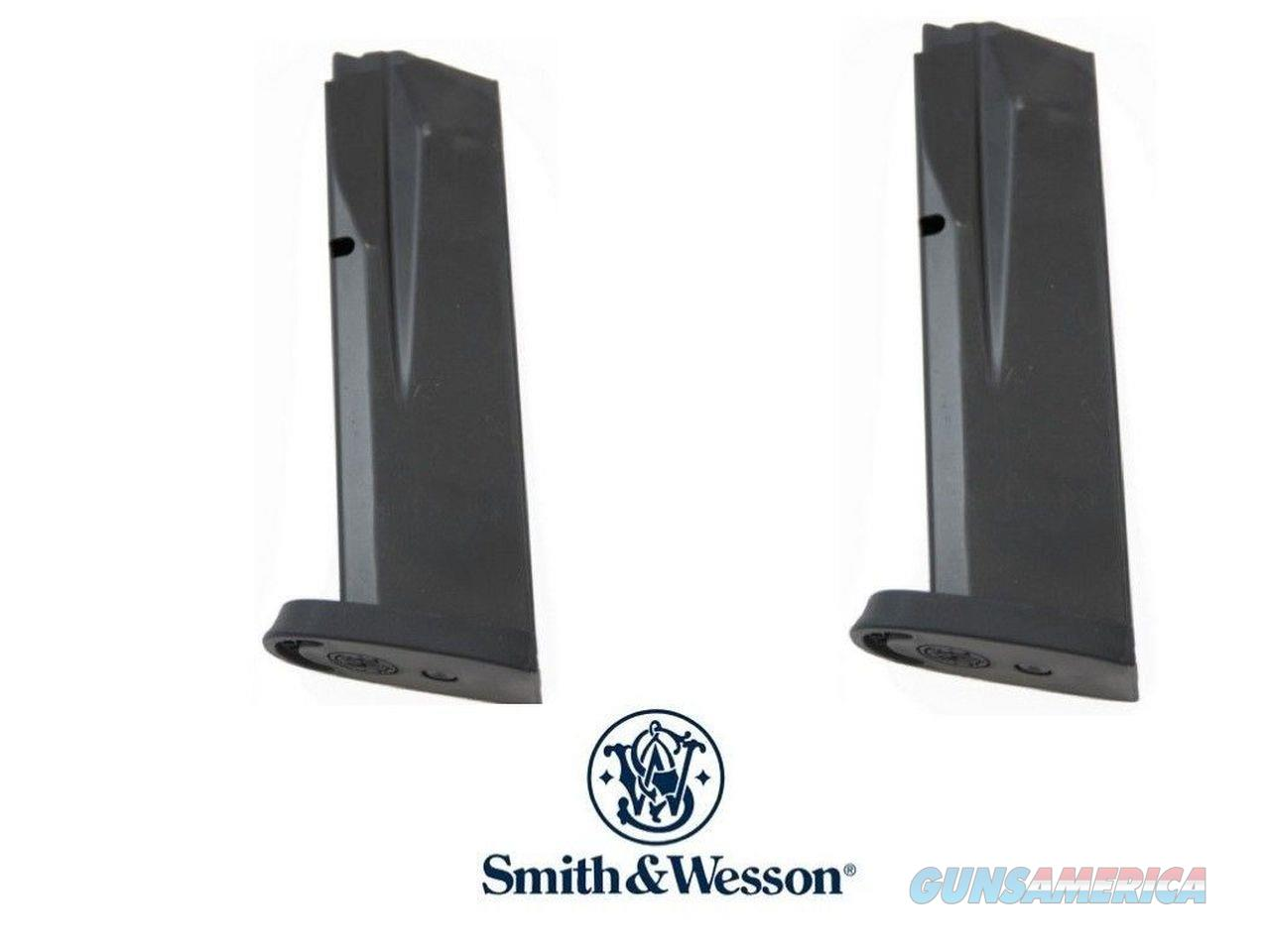 2 Pack Smith and Wesson M&P .45 S&W 10 Round .45 FACTORY Magazine Mag Magazines  Non-Guns > Ammunition