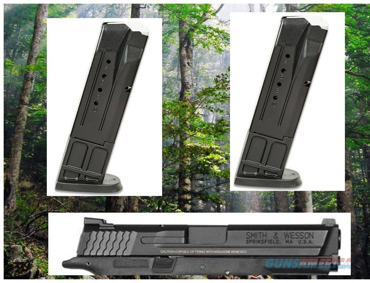 2 Pack Smith and Wesson 40 S&W 10 Round .40 Cal Magazine Mag Magazines  Non-Guns > Ammunition