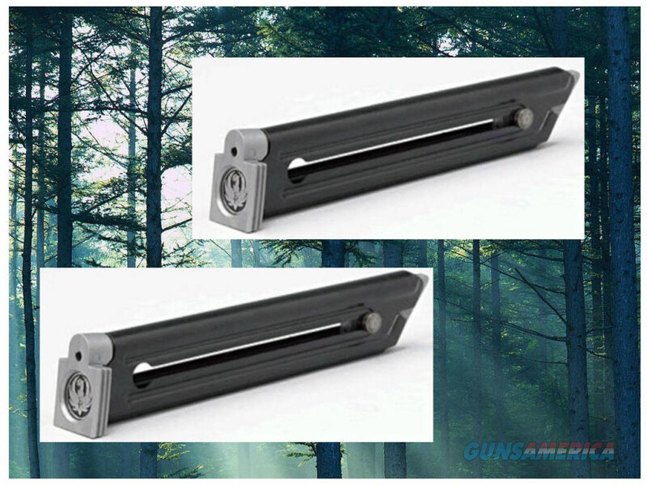 2 Pack Ruger Brand MARK 1 I 9rd Magazine .22lr 22 lr Mag Magazines MK 1 MKI MK 1  Non-Guns > Ammunition