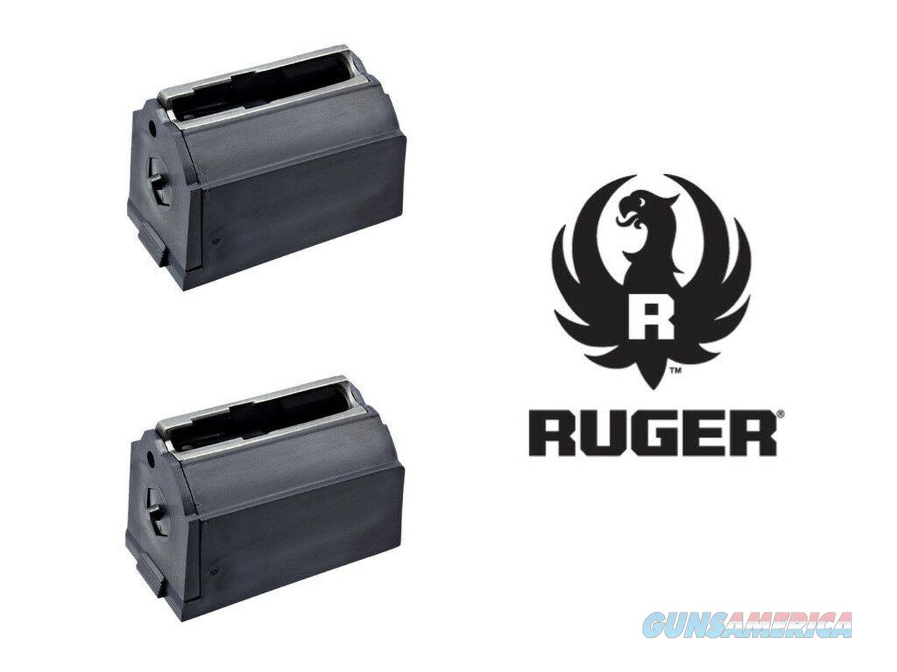 2-Pack Ruger JHX-2 17 77/17 Hornet Mag in Black Magazine Magazines Mags 5 Round  Non-Guns > Ammunition