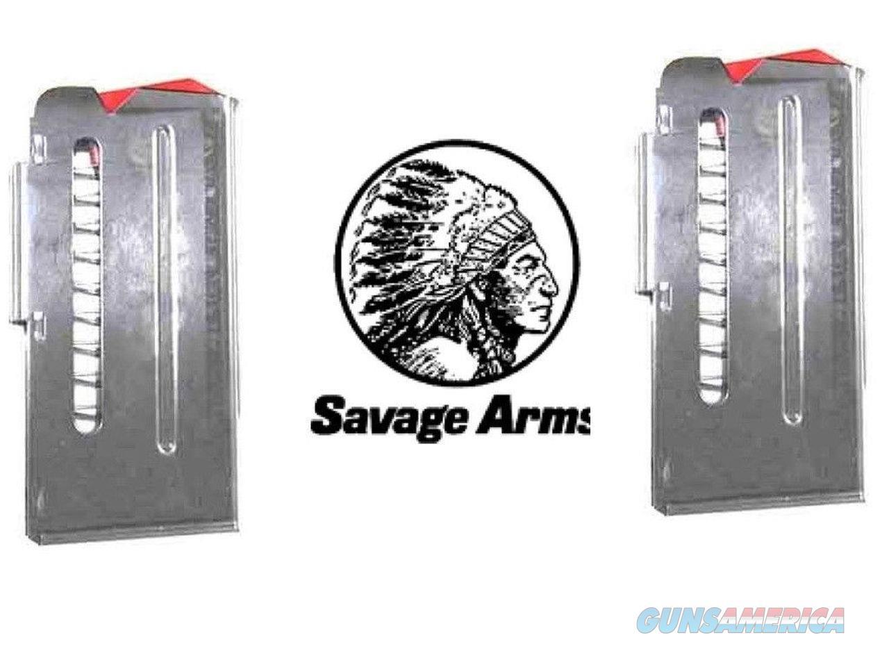 2-Pack SAVAGE Model 90 Stainless .22 WMR 17 HMR 22 Mag Magazines Magazine 10rd   Non-Guns > Ammunition