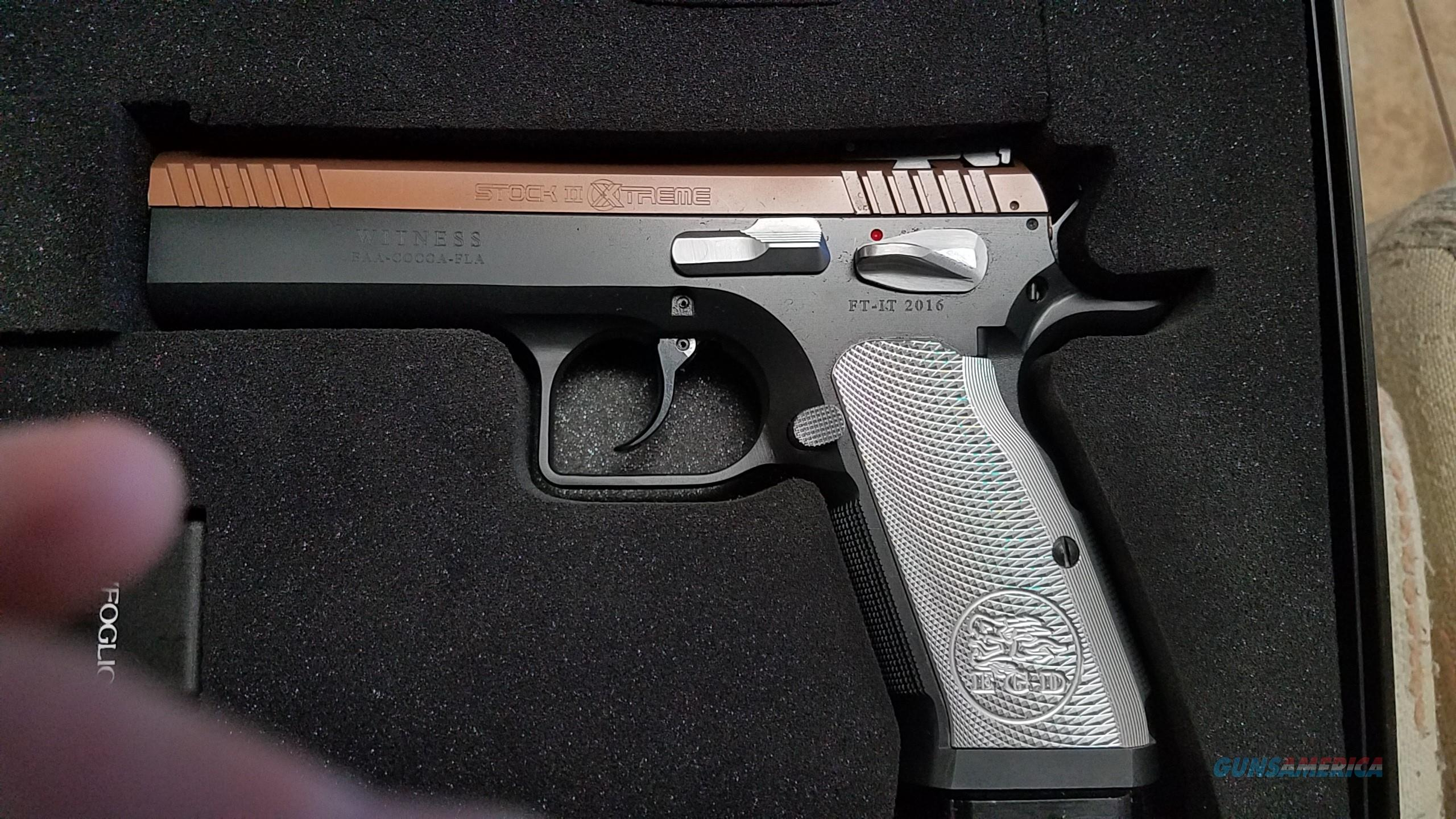 Tanfoglio Stock Ii Extreme Eaa Witness For Sale