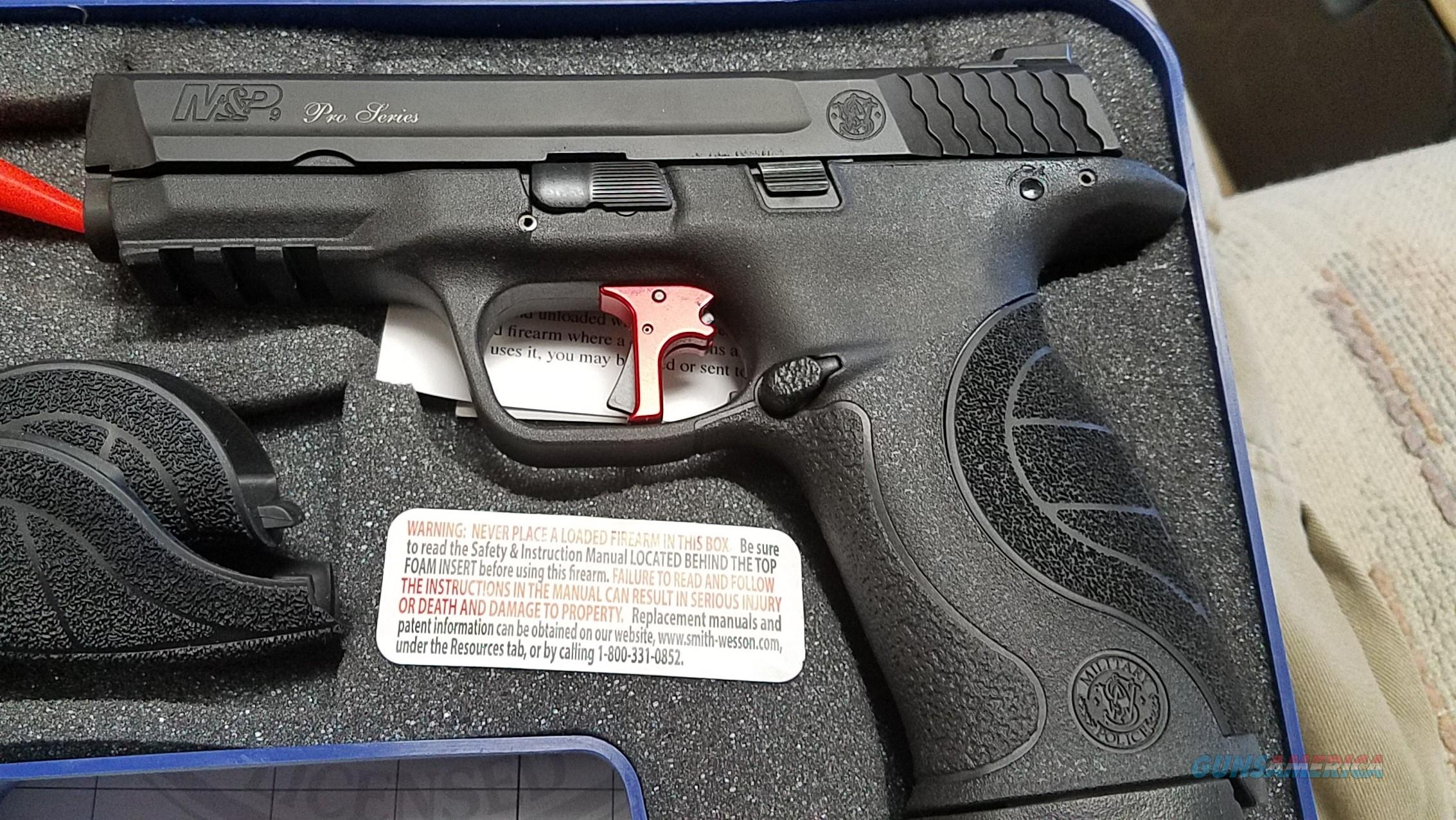 Smith & Wesson M&P Pro Series with Red Apex Trigger  Guns > Pistols > Smith & Wesson Pistols - Autos > Polymer Frame