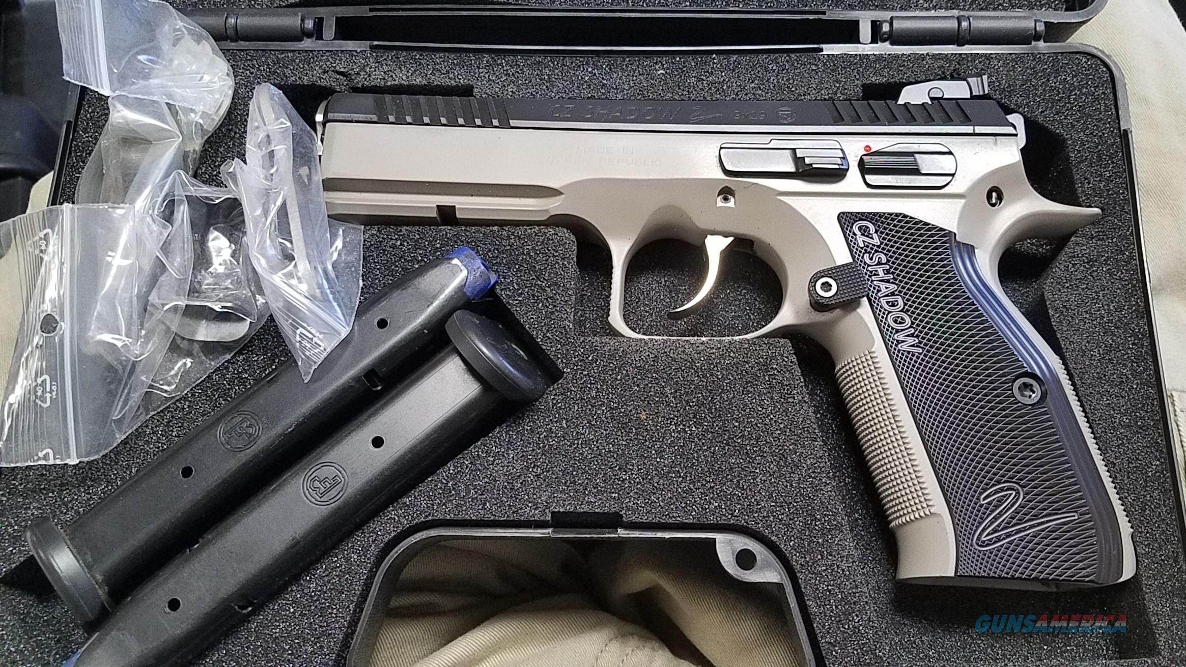 CZ Shadow 2 customized to be a Accu-Shadow - FDE and Black  Guns > Pistols > CZ Pistols